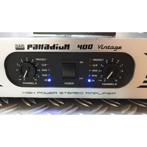 DAP P-400 Palladium Vintage versterker 2X 200 Watt