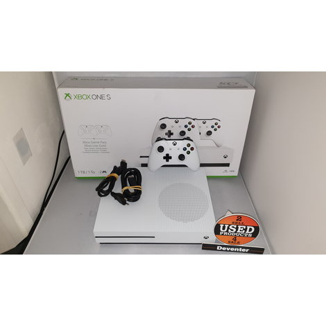 Microsoft Xbox One S 1TB console + 1 controller in nieuwstaat