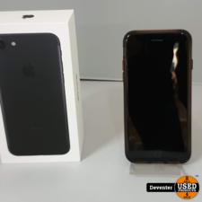 Apple iPhone 7 32 GB zwart gebruikte staat met doos