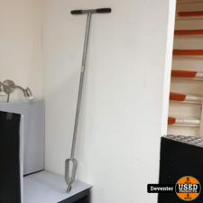 Grondboor 125 cm hoog/ diamer 10 cm verzinkt