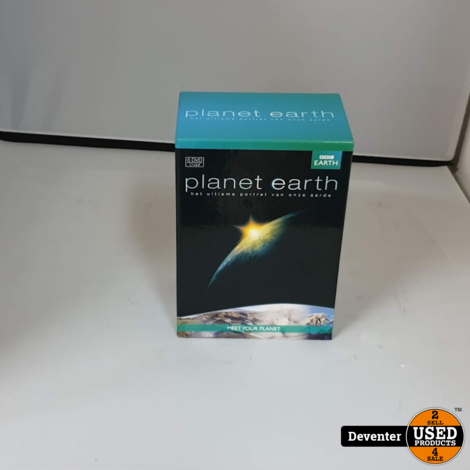 DVD Box Planeth Earth 6 DVD's in nette staat