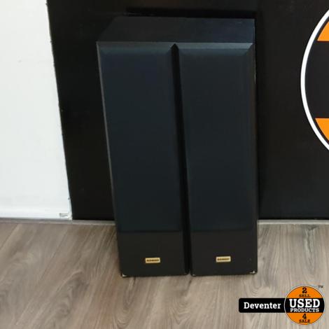 Kendo Status Line 125 vloerspeakers 80 cm hoog nette staat