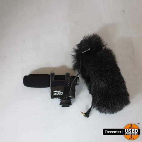 Hahnel MK200 richtmicrofoon / nette staat met garantie