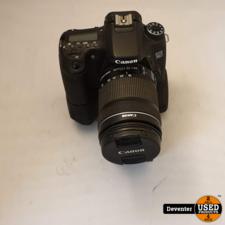 Canon EOS 70D met EF-S 18-135mm IS en batterygrip