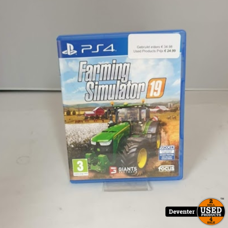 Farming Simulator 19 PS4 met garantie!