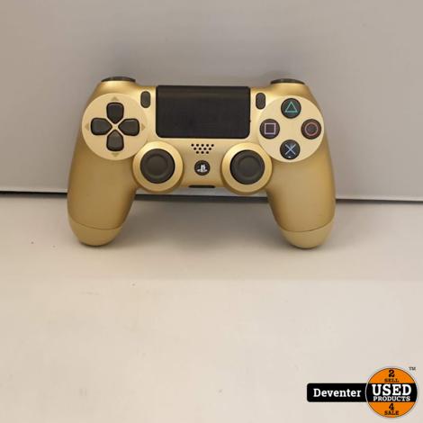 Dualshock 4 controller Goud Nette staat met garantie