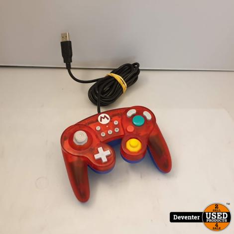 Nintendo Switch Controller - Hori - Smash Bros Gamepad Mario