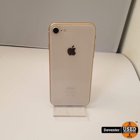 Apple iPhone 8 256GB Gold /Zeer net/ 3 maanden garantie