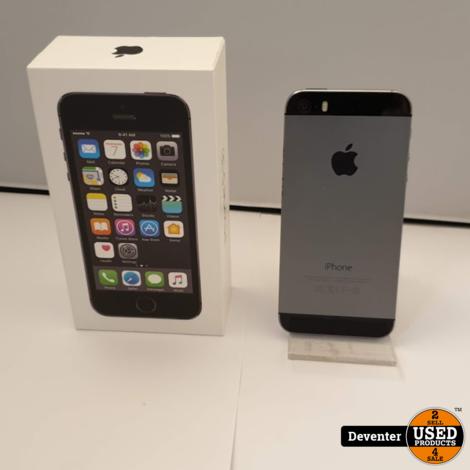 Apple iPhone 5S 16GB Space Gray nette staat met doos