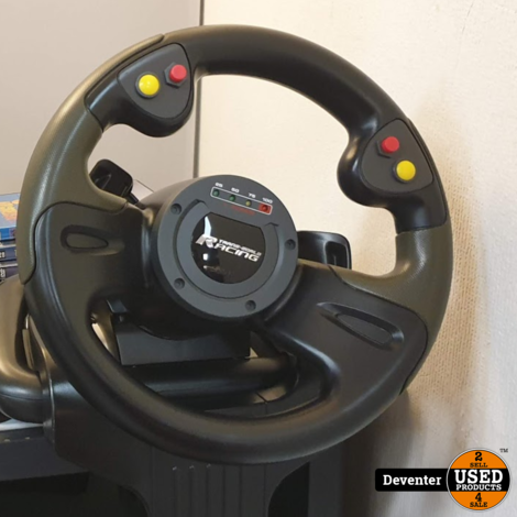 Saitek R440 Force Feedback Wheel (USB) met 5 PC games