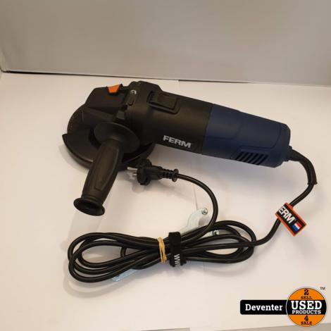 Ferm AGM1106 Haakse slijper 750W - 125mm NIEUW