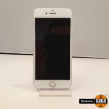 Apple Apple iPhone 6S 64GB Silver Zeer nette staat met garantie
