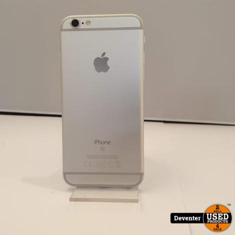 Apple iPhone 6S 64GB Silver Zeer nette staat met garantie