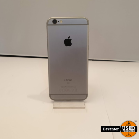 Apple iPhone 6S 64GB Space Gray Zeet nette staat met garantie