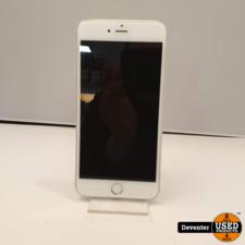 Apple Apple iPhone 6S Plus 64GB Silver zeer nette staat met garantie