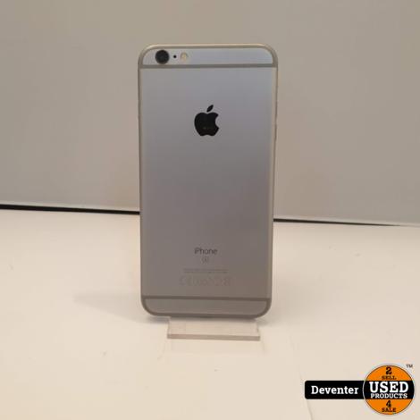 Apple iPhone 6S Plus 64GB Silver zeer nette staat met garantie