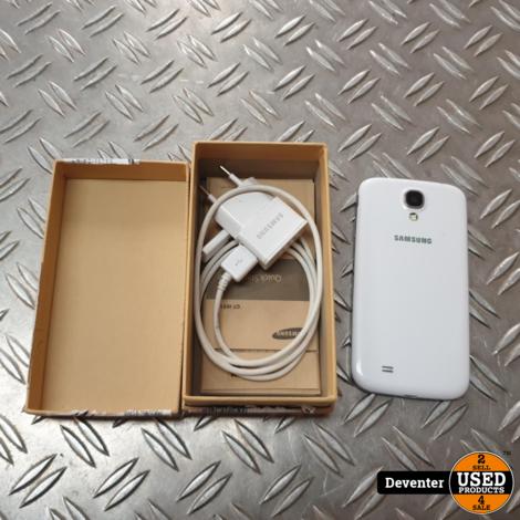 Samsung galaxy S4 16GB Wit met doos en lader