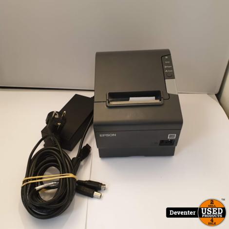 Epson TM-T88V Bonprinter - M244A - met adapter en USB kabel