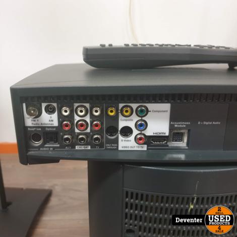 Bose 321 GS serie III HDMI met ijzeren standaards en extra's