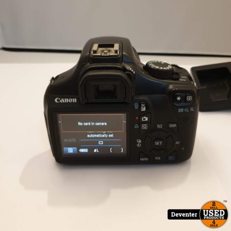 Canon EOS 1100D met EF-S 55-250mm 1:4-5.6 IS II