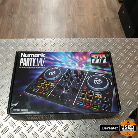 Numark Party Mix - DJ controller II Nieuwstaat in doos