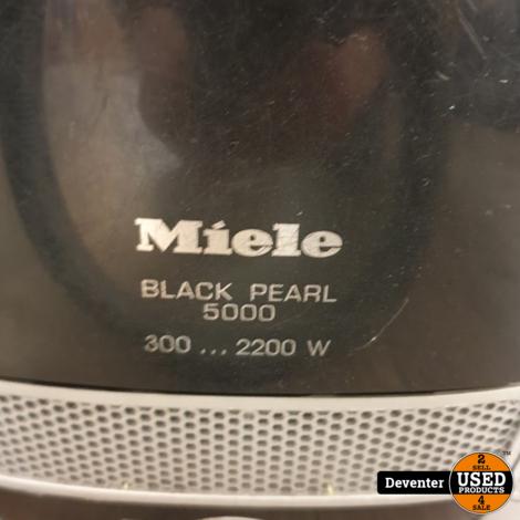 Miele Black Pearl 5000 stofzuiger 2200 watt met garantie
