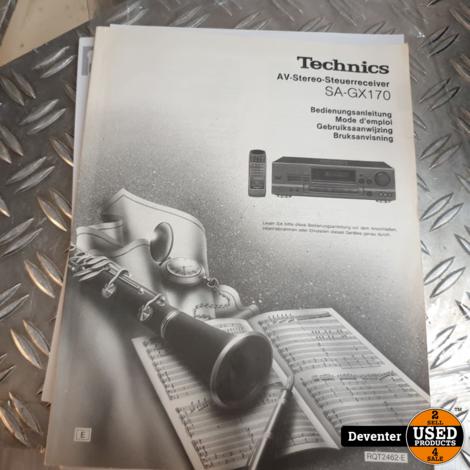 Technics SA-GX170E-K Stereo Receiver met garantie