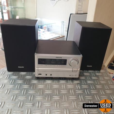 Philips MCM2000 Microsetje Radio/CD/USB met garantie