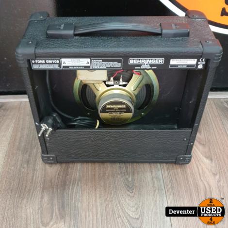 Behringer GM108 V-tone 15 Watt versterker met garantie