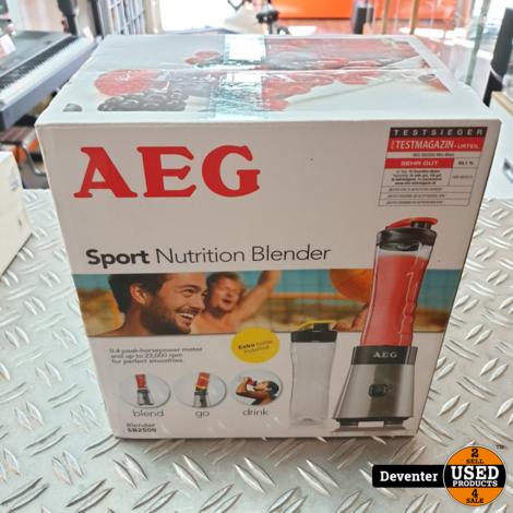 AEG SB2500 Sport Mini Mixer NIEUW in gezegelde doos