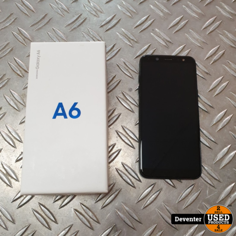 Samsung Galaxy A6 32GB Nieuwstaat met doos en lader
