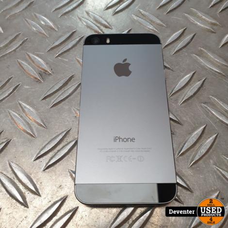 Apple iPhone 5S 32GB Kleur Space Gray Nette staat