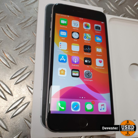 Apple iPhone 6S Plus 128GB zeer net met doos en lader