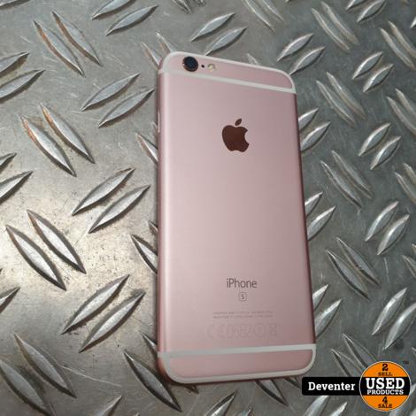 Apple iPhone 6S 64GB Rose Gold Zeer nette staat