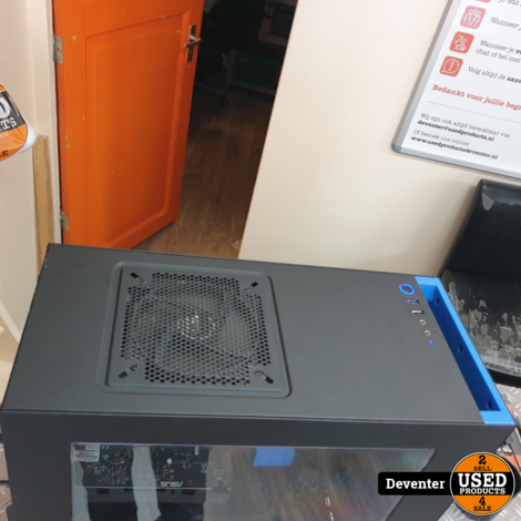 NZXT Game PC  i5-7400 16GB RAM 4 GB GTX-1050ti 1TB HDD