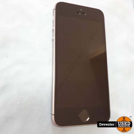 Apple iphone SE 16GB SpaceGrey met garantie