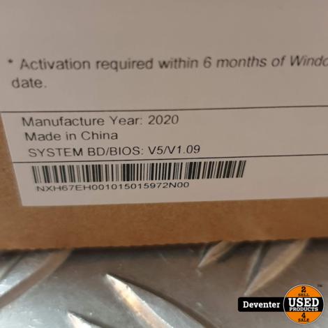 Acer Spin 1 (SP111-34N-C47K) Zo goed als nieuw in doos
