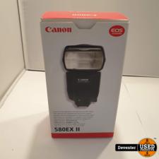 Canon Speedlite 580 EX II nieuwstaat in doos met garantie