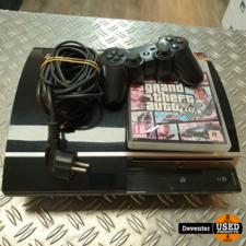 Playstation 3 Phat 80GB met 1 controller en GTA 5