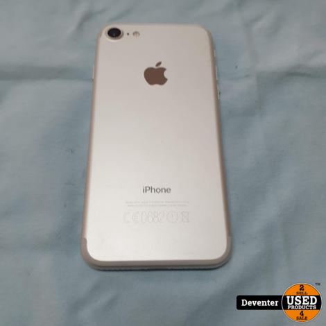 Apple iPhone 7 32GB Zilver Nette staat met garantie