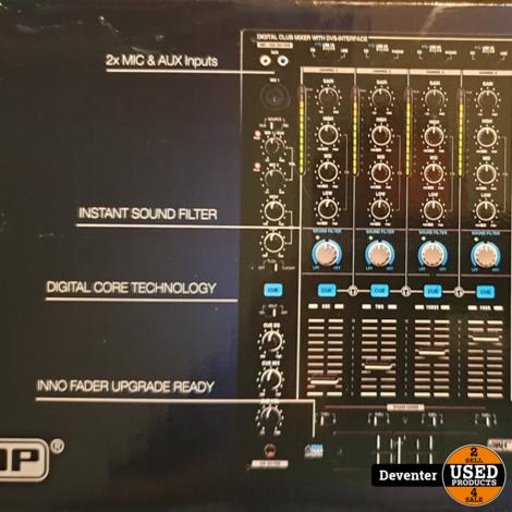 Reloop RMX 90DVS Mixer NIEUW in ongeopende doos met bon