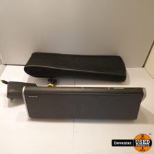Sony SRS-BTX300 Bluetooth RVS Speaker/ met garantie