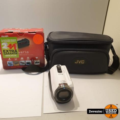 JVC Everio GZ-R315 Full HD Camcorder inclusief draagtas