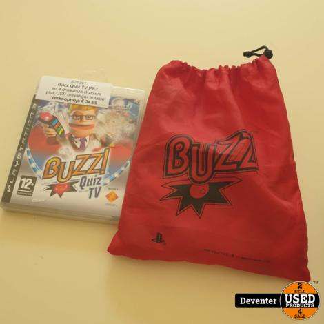 Buzz Quiz TV en 4 draadloze Buzzers  II Met garantie