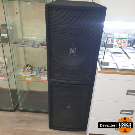Skytec SL12 2-weg Disco speakers 600 watt