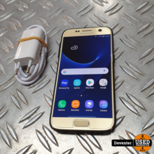 Samsung Galaxy S7 32GB Gold met nieuwe lader