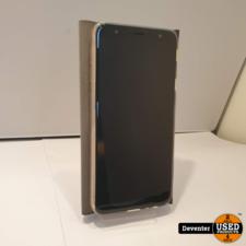 Samsung Galaxy J4 Plus 32 GB Goud Nette staat met hoes