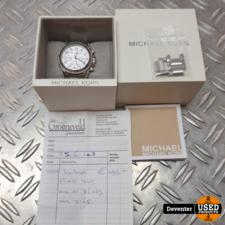 Michael Kors MK5165 Zeer net in doos met extra schakel