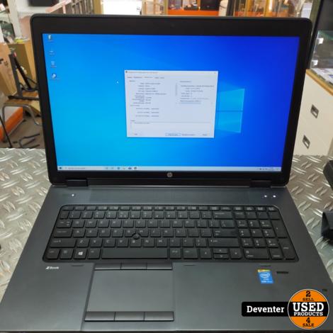 HP ZBook 17/ i5-4330M/ 16 GB/ 256GB/ 12GB Nvidea