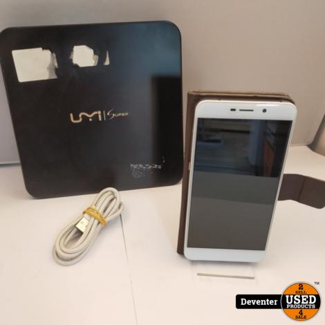Umi Super 32GB Grijs II met hoes en doosII Zeer net